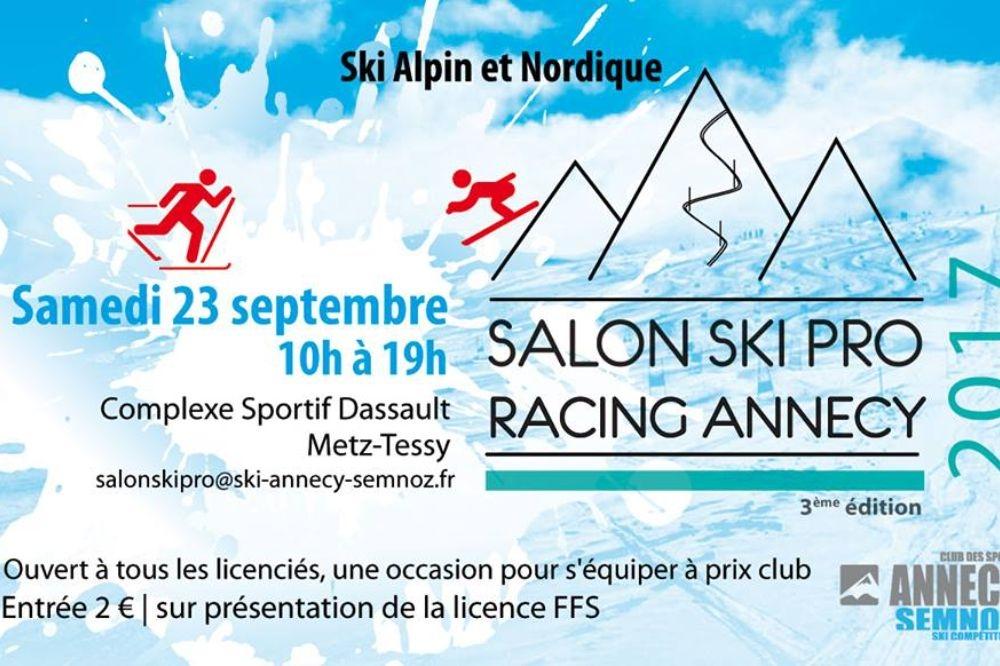 3ème édition Salon Ski Pro Racing Annecy