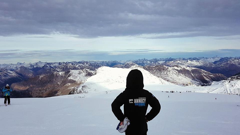 Déjà sur les skis...