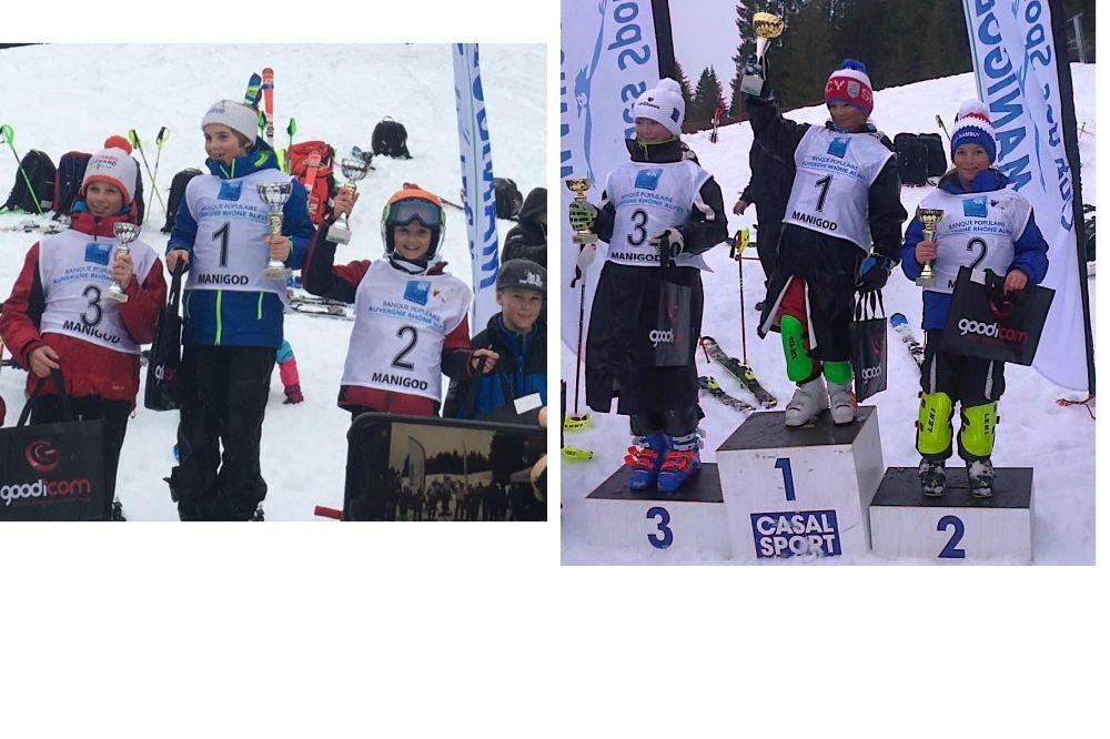 U12 : deux beaux podiums